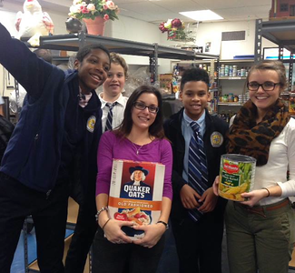 Westchester Middle School: Thanksgiving Food Drive