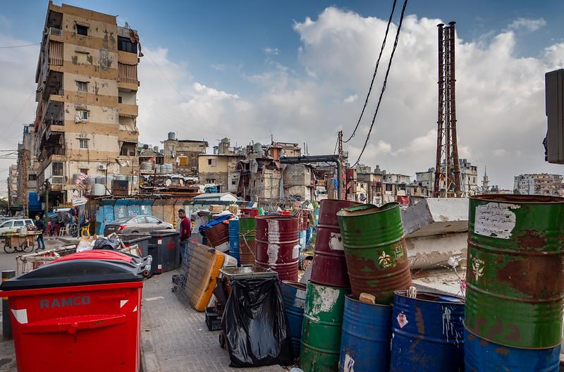Neighbourhood for the poor - Beirut, Lebanon