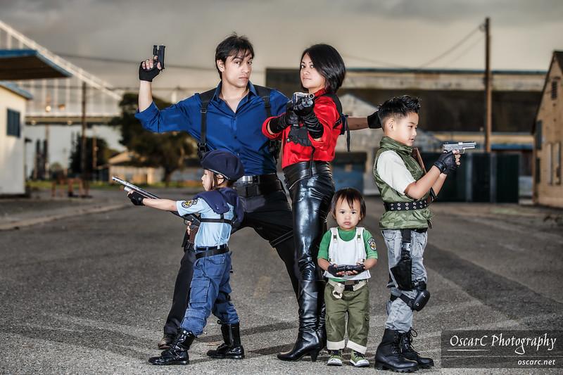 Resident Evil (Crayton Family Cosplay)