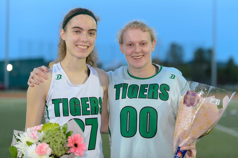 THS Girls Varsity Lacrosse vs La Salle