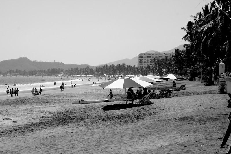 la playa, manzanillo