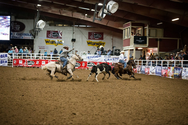 George Straight Roping Friday 8-10
