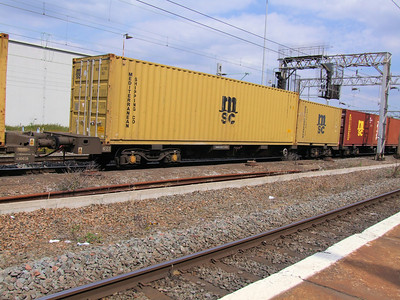 FEA-B (GBRf Intermodal) - 60 Foot 'Twin' Bogie Container Flat Wagon