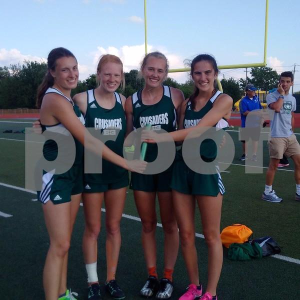 Gorman girls track