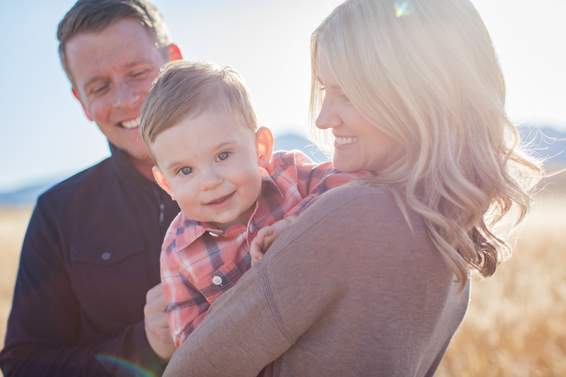 Christensen Family at Flatiron Vista