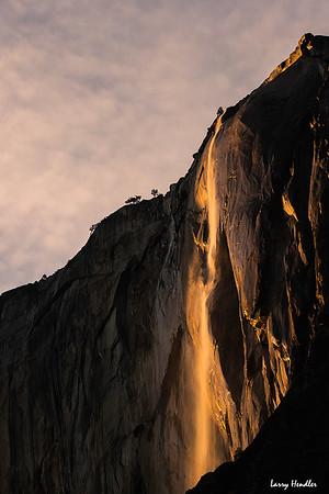 Horsetail Falls - Fire Falls - Yosemite