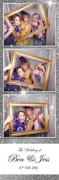 The Wedding of Ben & Jess Photostrips