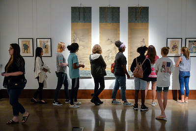 Citizen Scholars Visit Arts Center