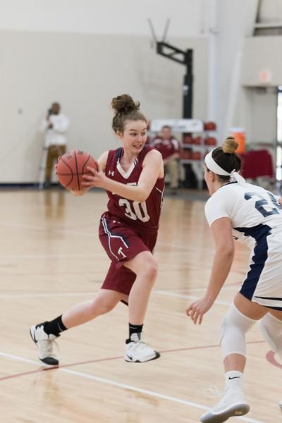 2/10/18: Girls' Varsity Basketball v Hotchkiss