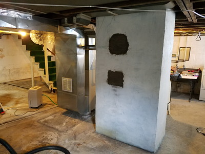 Basement Work Room