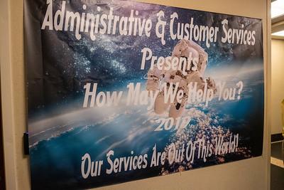 Admin Customer Service Fair 2019