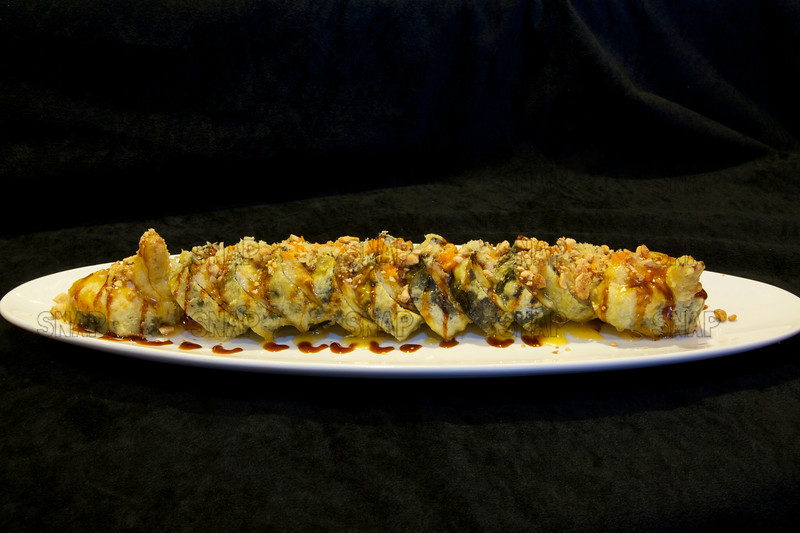 Deep Fried Empire Sushi Roll