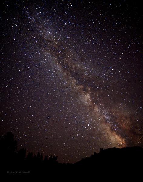 Lassen Park Milky Way