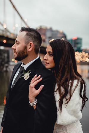 Kara + Gary Winter Pittsburgh Wedding
