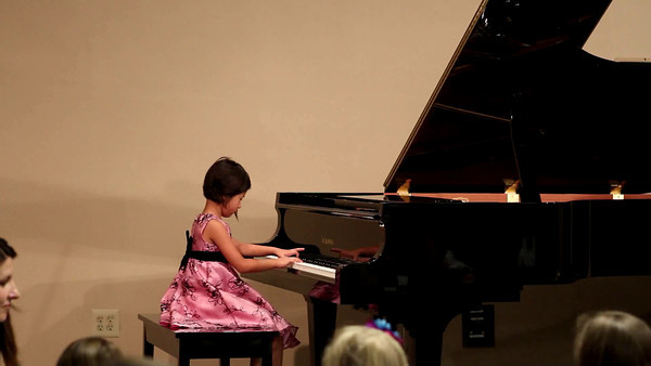 May 2011 Piano Recital