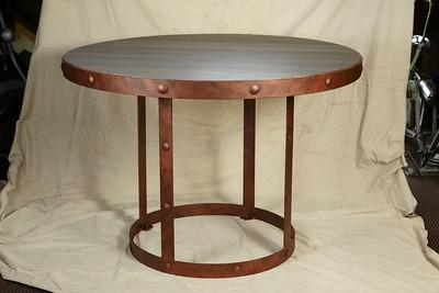 Pure Design Round Copper Table