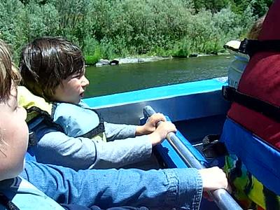 Rogue River Jet Boat
