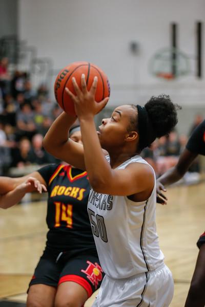 GHS Girls Basketball vs Rock Island Jan. 29, 2018