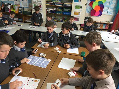 Maths with playing cards