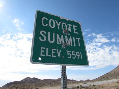 NV- Coyote Summit