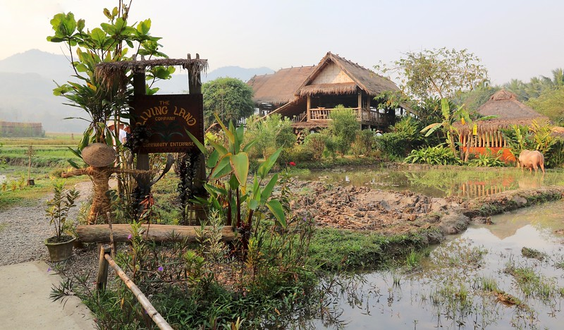 Our wonderful experience at The Living Land Rice Farm - Luang Prabang, Laos