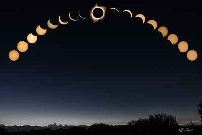 Full Total Solar Eclipse Aug 21 2017