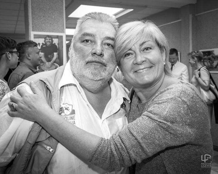 Nuostabusis Alfredas Bumblauskas ir žavingoji Edita Mildažytė