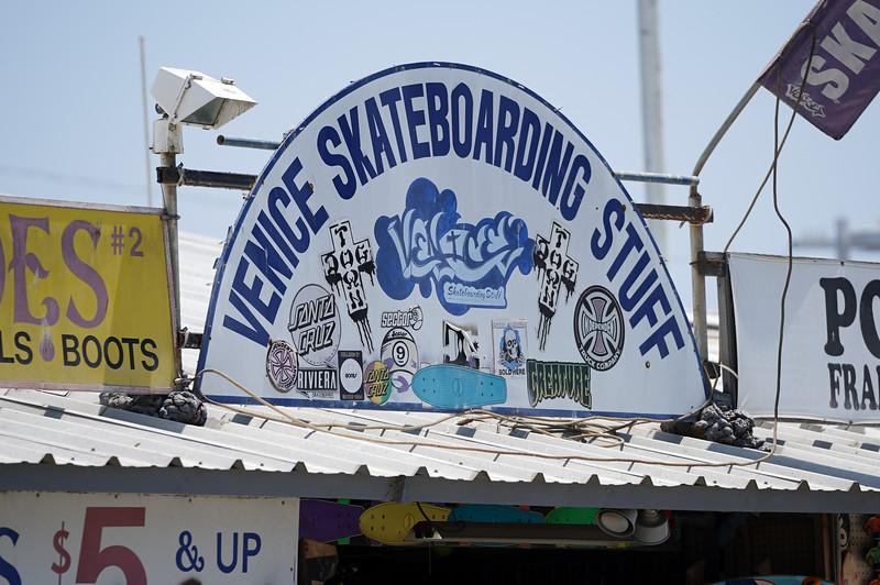 Venice skateboarding stuff