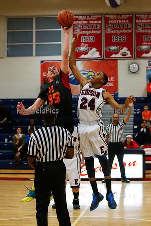 Boys Basketball JV Edison 12/13/13