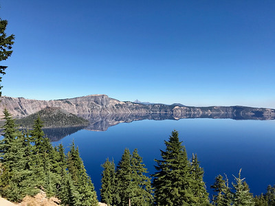 Arrival at Crater Lake