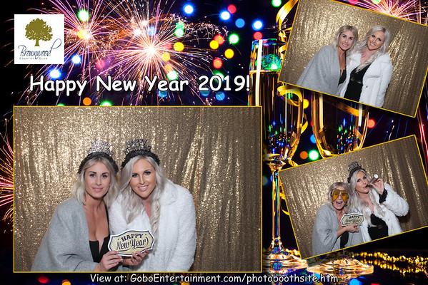 20181231 Brownwood CC NYE Party!