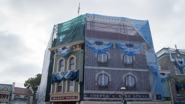 Disneyland Resort, Disneyland, Main Street USA, Market House, Facade, Refurbishment, Refurbish, Refurb