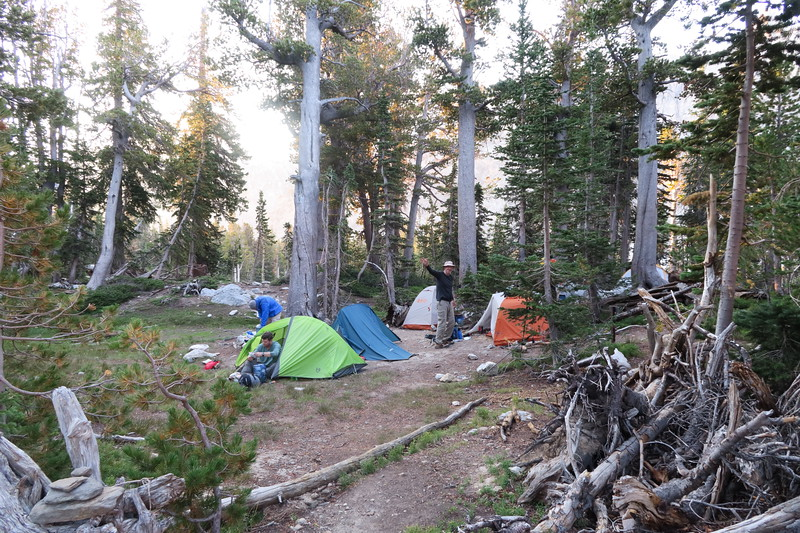 Final Campground at Holly Lake - Pack it up, it's time to go!