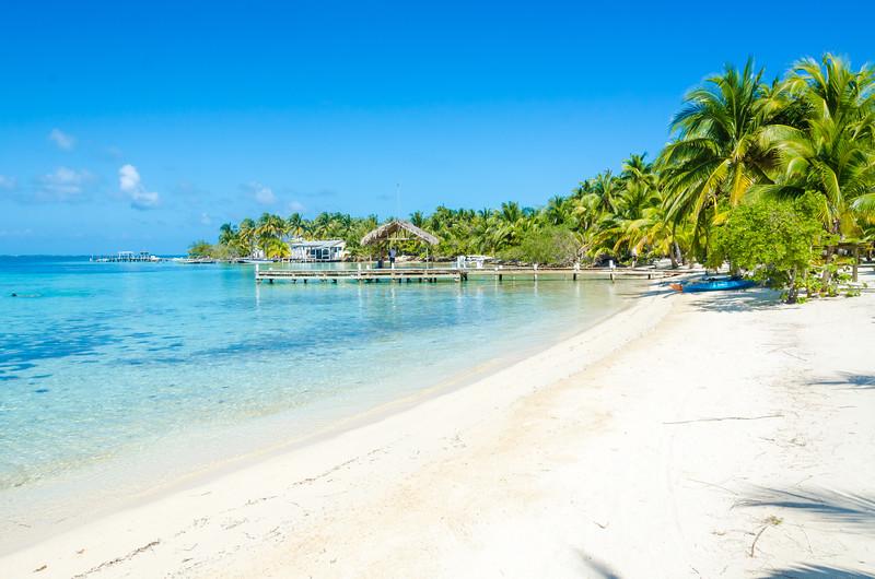Beach on Caye Caulker Belize