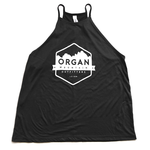Organ Mountain Outfitters - Outdoor Apparel - Womens - Flowy High Neck Tank - Black.jpg