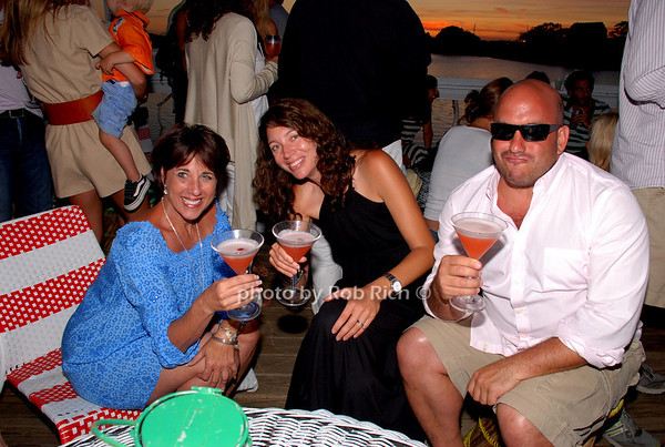 Kristin Biorn, Bill Hostetter and Meg Branigan