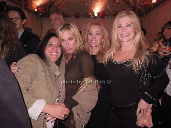 Toni Filipone, Sonja Morgan, Anne Shearman-Betts and Cindy Guyer photo by Rob Rich/SocietyAllure.com © 2014 robwayne1@aol.com 516-676-3939