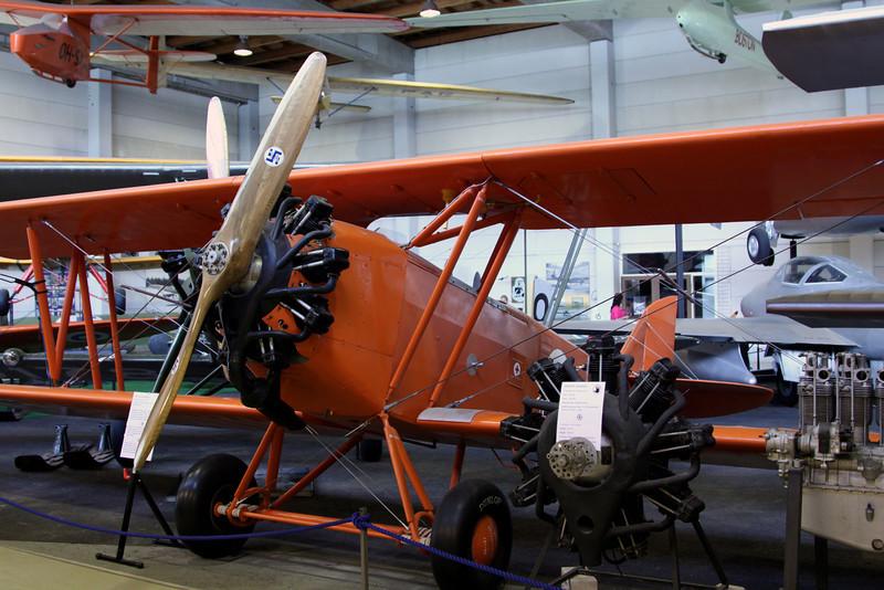Finnish aviation museum - Letov S.218 A Smolik