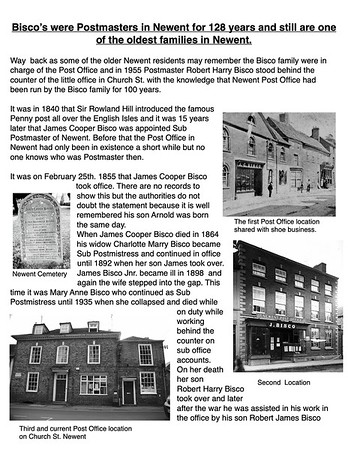 Newent Post Office & Bisco's