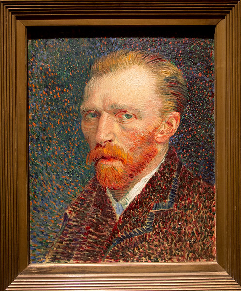"Vincent van Gogh's 1886/7 ""Self Portrait"""
