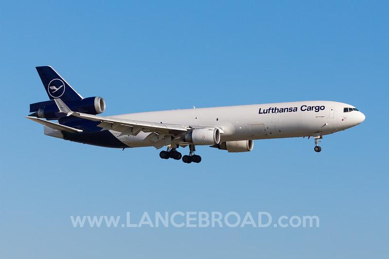 Luftansa Cargo MD-11F - D-ALCD - LAX