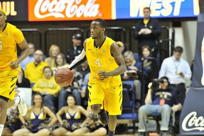 28164 WVU Men's Basketball DePaul February 2012