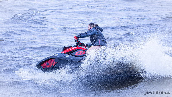 Sea Doos on Lake Monroe - Click to Open