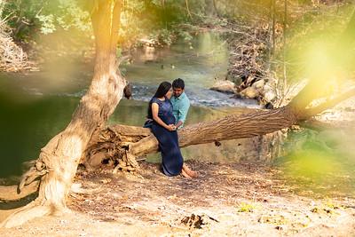 Amith and Raksha Maternity Shoot