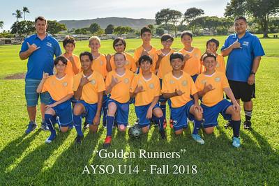 AYSO Soccer - Fall 2018