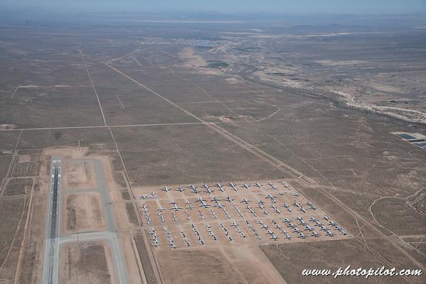 Airplane Storage Yards