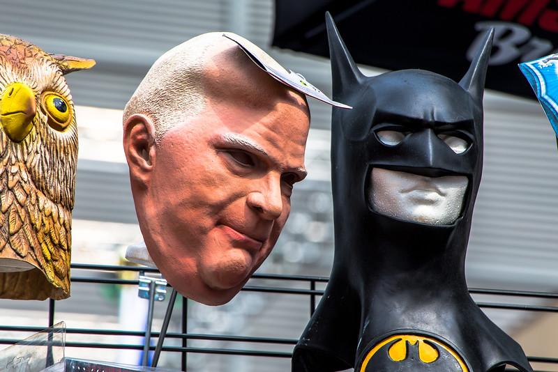 Guess Who? - Masks At Yonge & Gould Streets