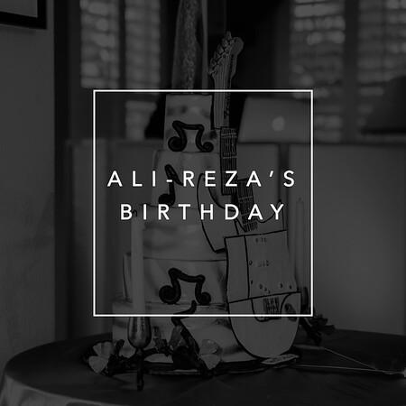 Ali-Reza's Birthday
