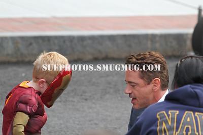 """Robert Downey Junior, filming """"The Judge"""" in Massachusetts"""