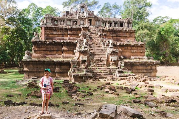 Angkor Wat and Siem Reap - January 2019